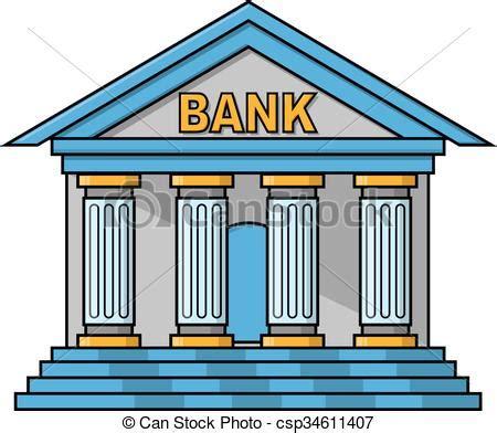 Image De Banc by Bank Building Illustration Design