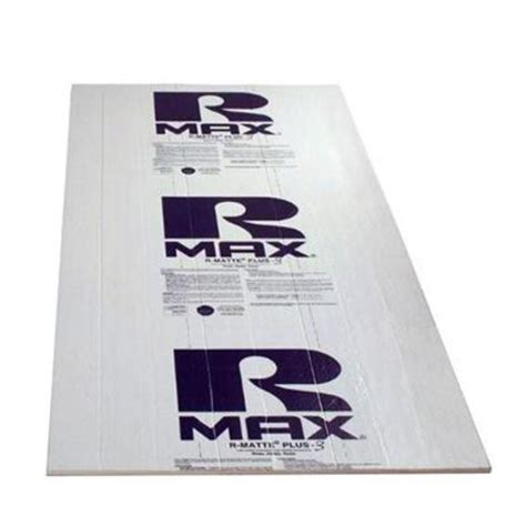 r matte rmax r matte plus 3 3 4 in x 4 ft x 8 ft r 5