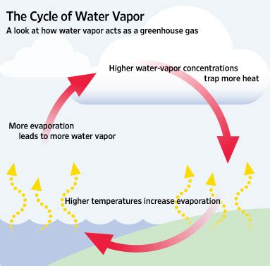 slowdown in warming tied to less water vapor wsj