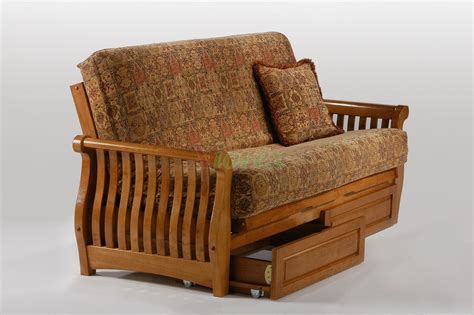 just futon nightfall futon night and day nightfall wood futon beds