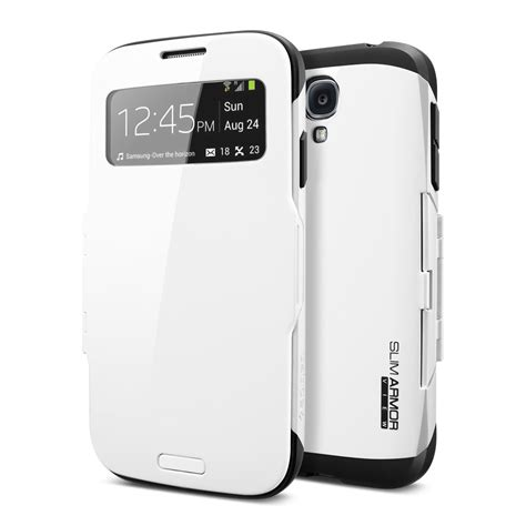 Samsung Galaxy S4 Spigen Slim Armor Back Cover Casing S4 spigen samsung galaxy s4 slim armor view thinx international
