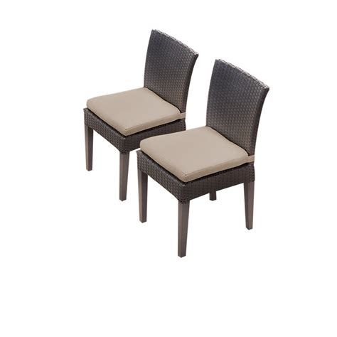 Armless Dining Chairs Tk Classics 2 Napa Armless Dining Chairs