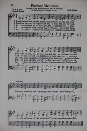 printable lyrics to precious memories hymn 17 best images about sheet music lyrics on pinterest