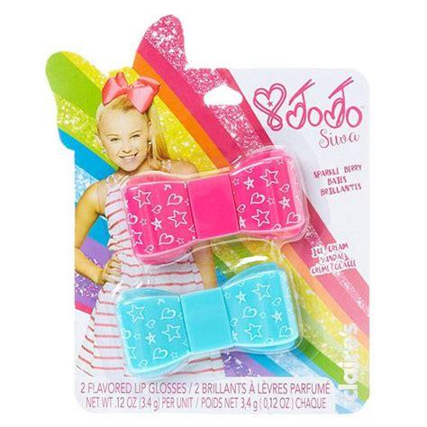 Jojo Make Up Set 8 In 1 claires jojo siwa 2 flavored lip gloss bows jojo