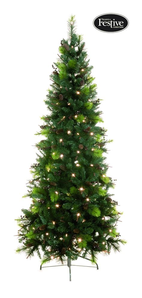 pre lit sherwood pine christmas tree 163 123 49