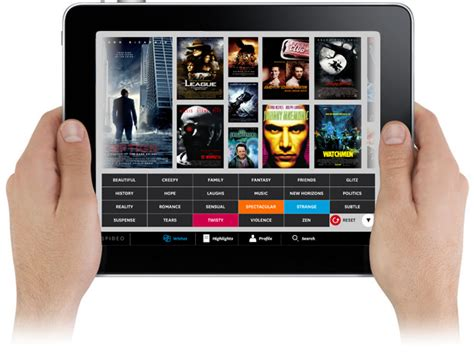 film gratis ipad spideo ipad app instant movie discovery french culture