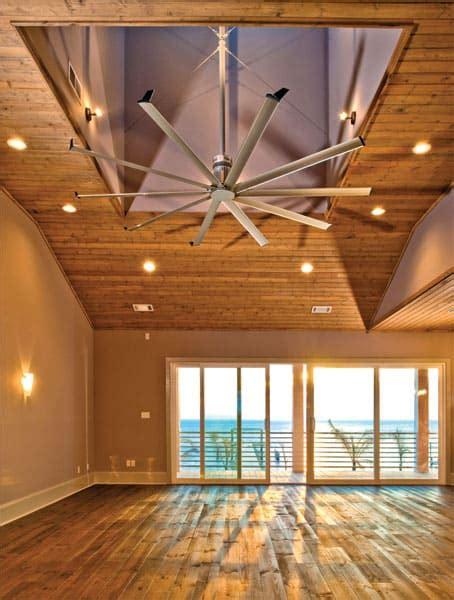 oversized ceiling fan isis  big ass fans designer homes