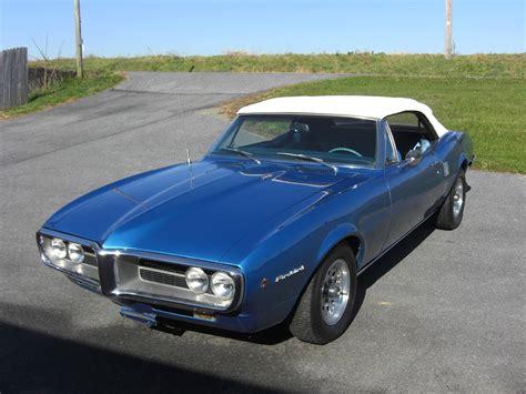 Car Pontiac by 1967 Pontiac Firebird Convertible Classic Car