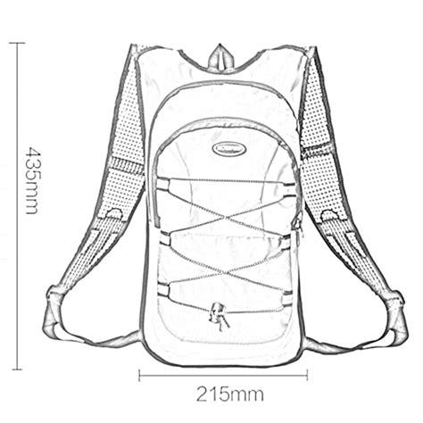 Tas Sepeda Hotspeed hotspeed tas sepeda hydration bladders bag 12l dengan