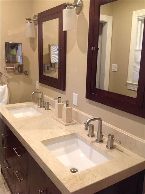 bathroom sink countertops 25 best ideas about dark wood bathroom on pinterest