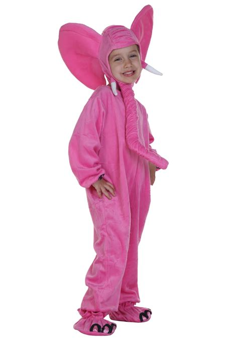 elephant costume child pink elephant costume