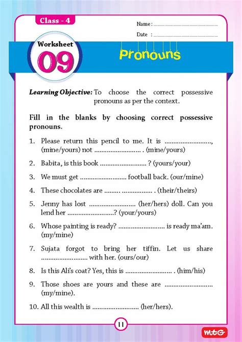 free printable grammar for class 1 worksheets