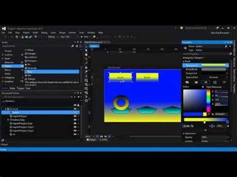 tutorial visual studio blend visual studio 2015 blend introdu 231 227 o ao wpf parte 5