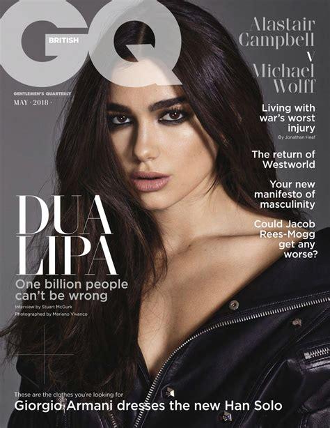 dua lipa us dua lipa in gq magazine uk april 2018 issue hawtcelebs