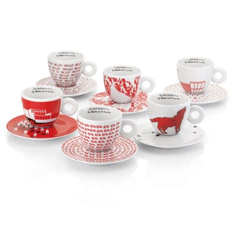 cappuccino cups illy art collection watermill center cappuccino cups by