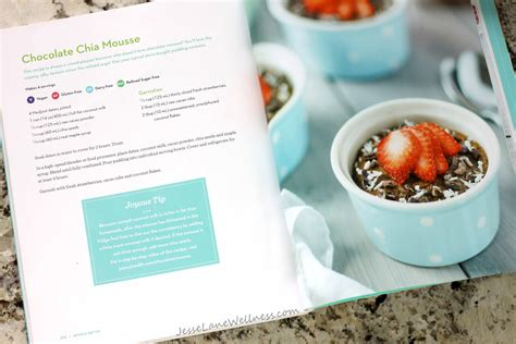 Joyous Health Detox by Joyous Detox Giveaway And Chocolate Chia Mousse Recipe