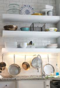 floating shelves kitchen white bigger stronger kitchen floating shelves