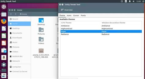 paper new material design inspired gtk theme web upd8 install paper icons and gtk theme on ubuntu a stylish