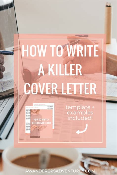 creating a great cover letter writing a good cover letter for an