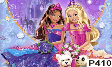 painel barbie castelo de diamante  elo clim festas