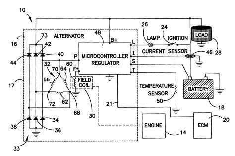 voltage regulator wiring diagram voltage free engine