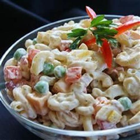 pasta salad with bacon bacon ranch macaroni salad photos allrecipes com