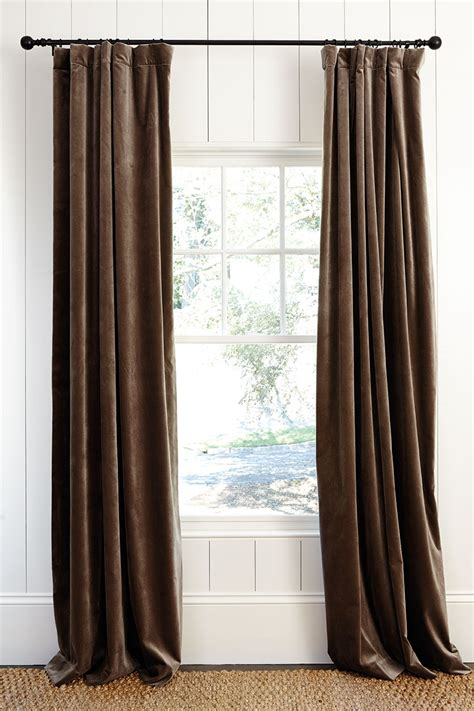 window curtains with hooks what s the best way to hang your drapery how to decorate