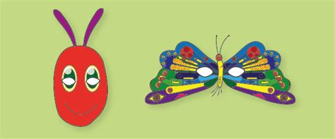 caterpillar mask template the hungry caterpillar play masks free early