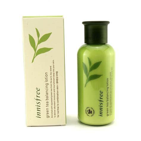 Innisfree Balancing Lotion 160ml buy innisfree green tea balancing lotion from sunnanz singapore