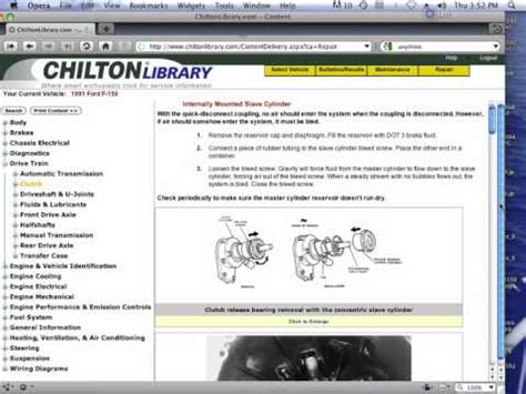 Free Chilton Manuals Online Youtube