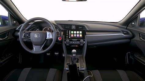 honda civic 2017 interior 2017 honda civic si sedan interior