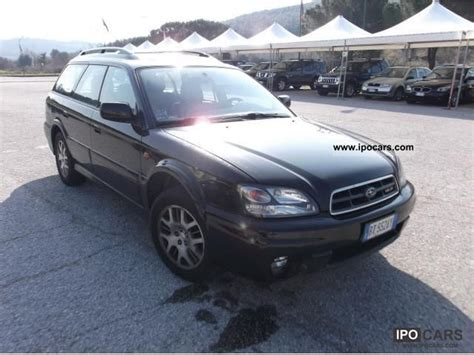 2001 subaru outback h6 3 0 car photo and specs