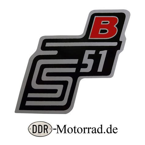 Aufkleber F R Moped aufkleber f 252 r seitendeckel simson s51b rot moped ersatzteile