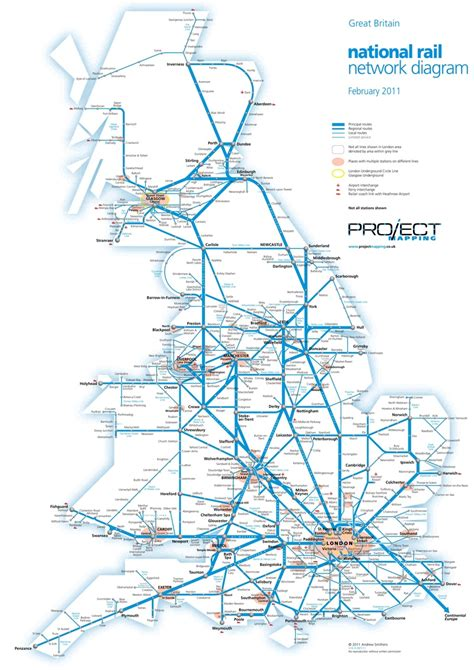 network map rail network images