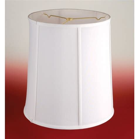 18 drum l shade 18 quot white drum l shade 20592 drum l shade l