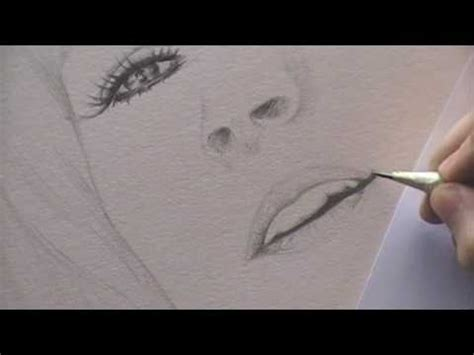 drawing a portrait 2.nose & mouth youtube