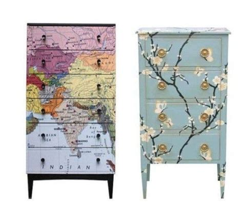 What Can You Decoupage - shelf in bathroom decoupage furniture you can put