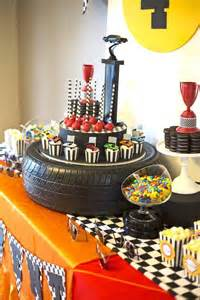a rad race car themed 4th birthday spaceships and