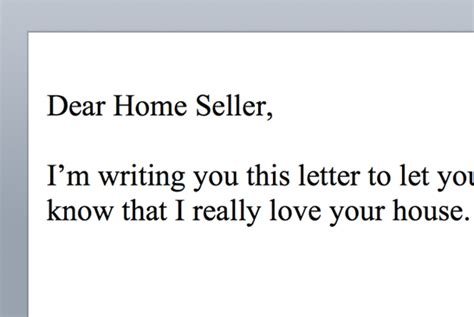 Offer Letters To Sellers Premiere Realty Part 2