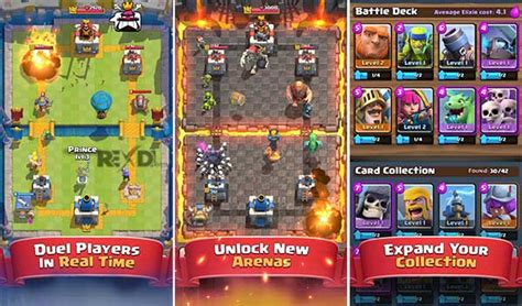 clash royale 2 4 3 apk mod gems crystals for android