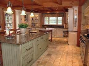 natural materials create farmhouse kitchen design hgtv