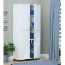 Utility Storage Cabinet Systembuild 36 Quot Utility Storage Cabinet White 7363401pcom Walmart