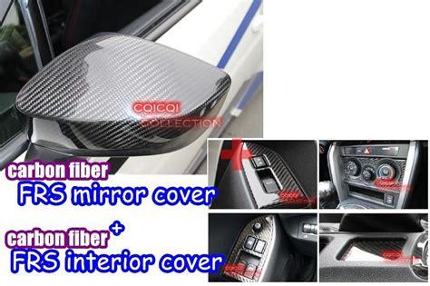 find combo carbon fiber 2012 scion frs mirror cover