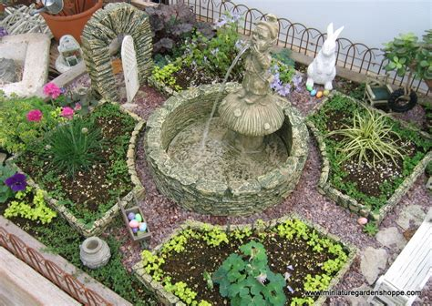 Miniature Garden Inspiration Gallery Nanuca S Blog Mini Garden Ideas