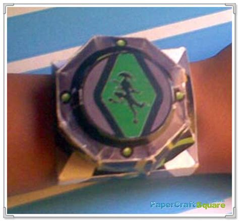 How To Make Paper Omnitrix - ben 10 omnitrix papercraft www pixshark images