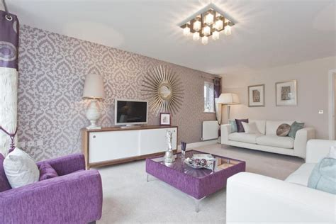 purple living room wallpaper purple white wallpaper design ideas photos inspiration rightmove home ideas