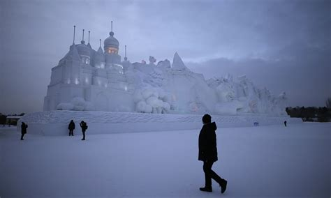 Get The Look An For The Snow by And Snow Festival Lights Up China S Northeast City