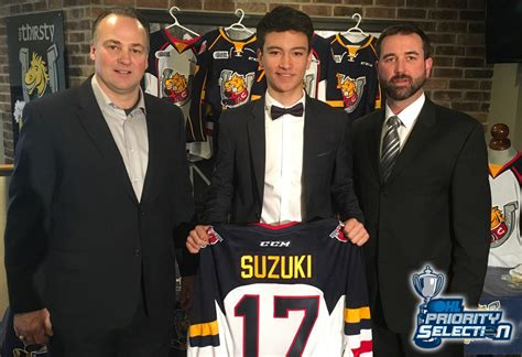 nick suzuki parents colts announce suzuki as overall in the
