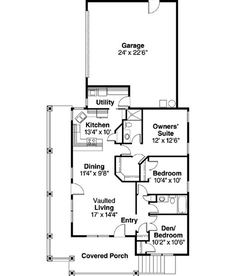home design 650 square feet country style house plans 1265 square foot home 1