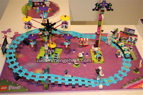 N Friends Roller Coaster fair 2016 lego friends amusement park and